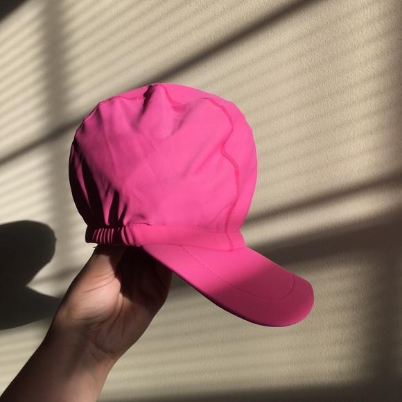 2b11fd6f8a126 Pink Swim Hat Beach Hat Sun Protection Rashguard
